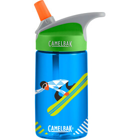 CamelBak Eddy Holiday Limited Edition Borraccia Bambino 400ml verde/blu